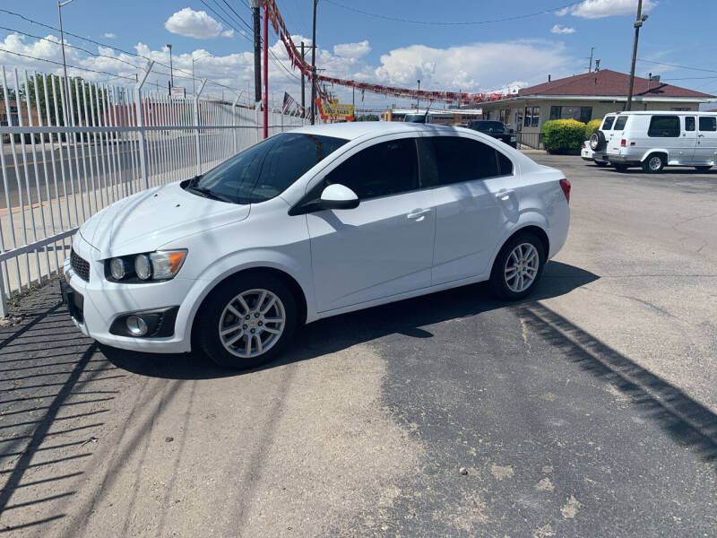2012 Chevrolet Sonic for sale at Robert B Gibson Auto Sales INC in Albuquerque NM