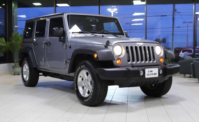 2013 Jeep Wrangler Unlimited for sale at Car Culture in Warren OH