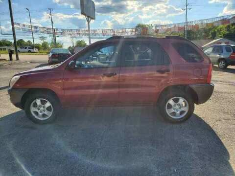 2007 Kia Sportage for sale at Knoxville Wholesale in Knoxville TN