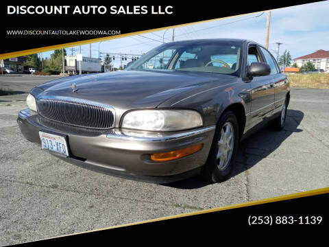 2000 Buick Park Avenue for sale at DISCOUNT AUTO SALES LLC in Spanaway WA