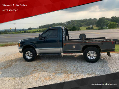 1999 Ford F-350 Super Duty for sale at Steve's Auto Sales in Harrison AR