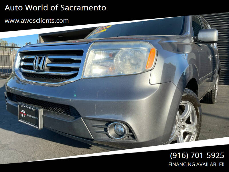 2013 Honda Pilot for sale at Auto World of Sacramento Stockton Blvd in Sacramento CA