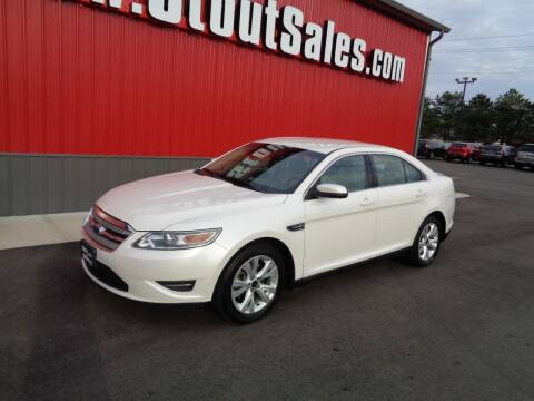 2012 Ford Taurus for sale at Stout Sales in Fairborn OH