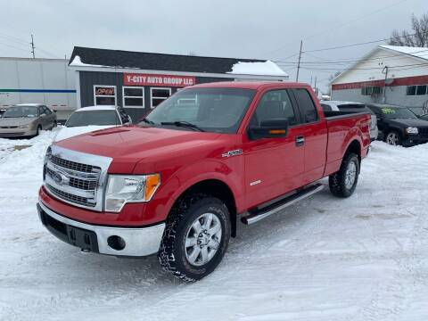 2014 Ford F-150 for sale at Y City Auto Group in Zanesville OH