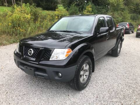 2012 Nissan Frontier for sale at R.A. Auto Sales in East Liverpool OH