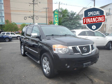 2012 Nissan Armada for sale at 103 Auto Sales in Bloomfield NJ