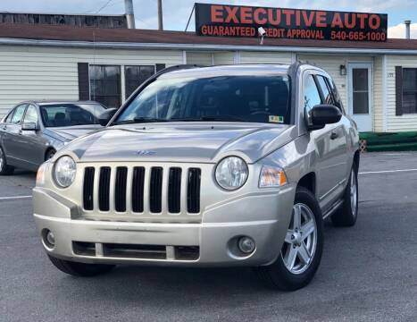 2009 Jeep Compass for sale at Executive Auto in Winchester VA
