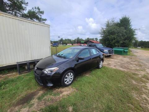 2014 Toyota Corolla for sale at Lakeview Auto Sales LLC in Sycamore GA