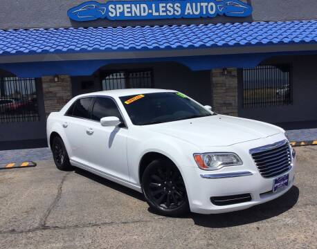 2013 Chrysler 300 for sale at SPEND-LESS AUTO in Kingman AZ