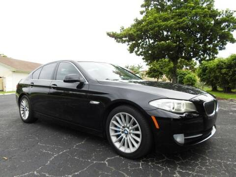2012 BMW 5 Series for sale at SUPER DEAL MOTORS 441 in Hollywood FL