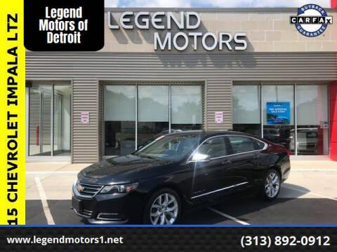 2015 Chevrolet Impala for sale at Legend Motors of Waterford - Legend Motors of Detroit in Detroit MI