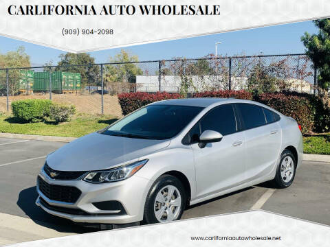 2017 Chevrolet Cruze for sale at CARLIFORNIA AUTO WHOLESALE in San Bernardino CA
