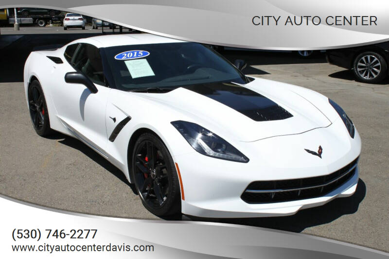 2015 Chevrolet Corvette for sale at City Auto Center in Davis CA