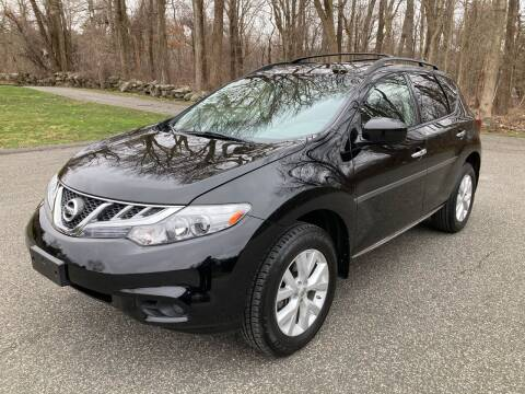2011 Nissan Murano for sale at Lou Rivers Used Cars in Palmer MA
