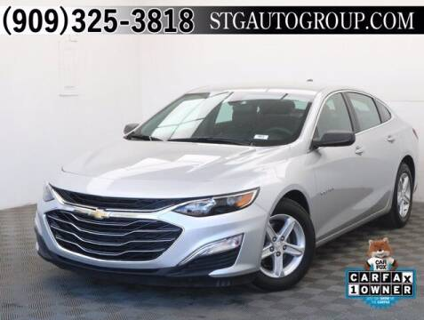 2019 Chevrolet Malibu for sale at STG Auto Group in Montclair CA