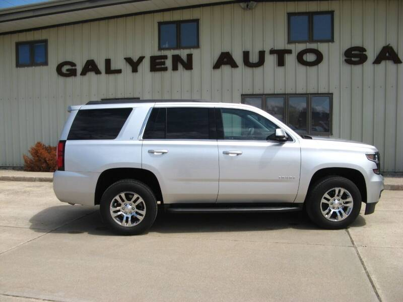 2020 Chevrolet Tahoe for sale at Galyen Auto Sales Inc. in Atkinson NE