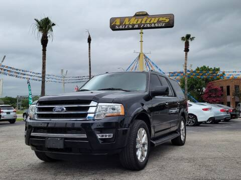 2016 Ford Expedition for sale at A MOTORS SALES AND FINANCE in San Antonio TX