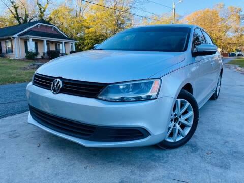 2012 Volkswagen Jetta for sale at Cobb Luxury Cars in Marietta GA
