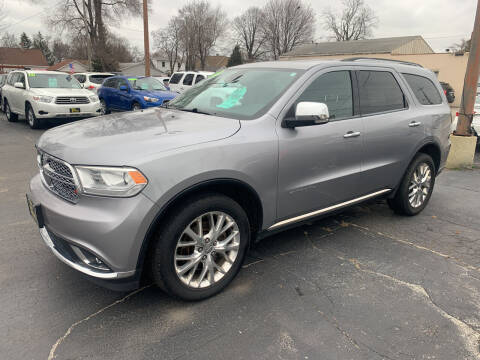 2014 Dodge Durango for sale at PAPERLAND MOTORS in Green Bay WI