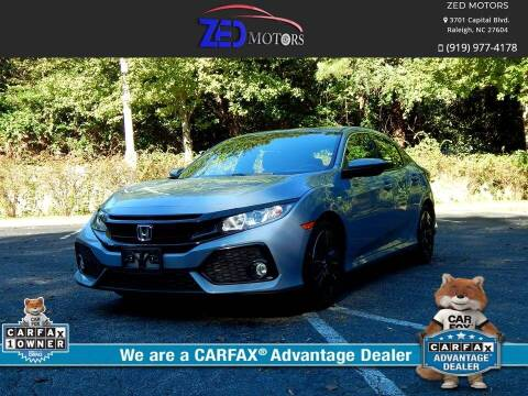 2017 Honda Civic for sale at Zed Motors in Raleigh NC