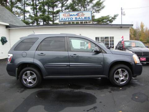 2009 Chevrolet Equinox for sale at G and G AUTO SALES in Merrill WI