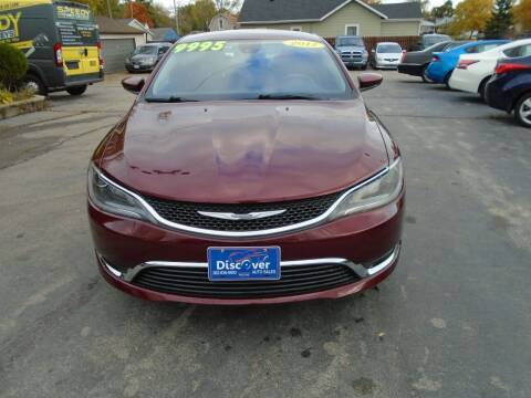 2017 Chrysler 200 for sale at DISCOVER AUTO SALES in Racine WI