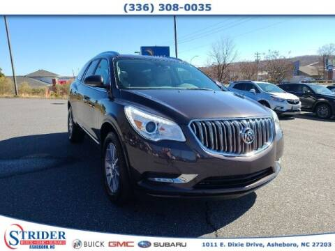 2017 Buick Enclave for sale at STRIDER BUICK GMC SUBARU in Asheboro NC