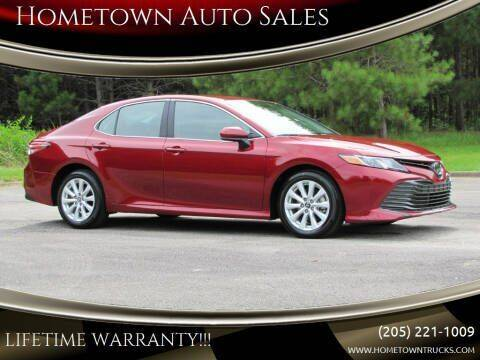 2019 Toyota Camry for sale at Hometown Auto Sales - Cars in Jasper AL