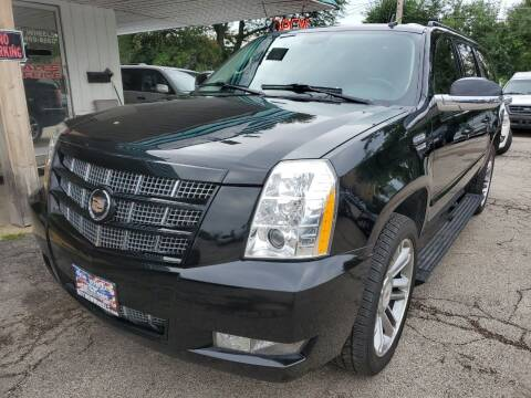 2014 Cadillac Escalade ESV for sale at New Wheels in Glendale Heights IL
