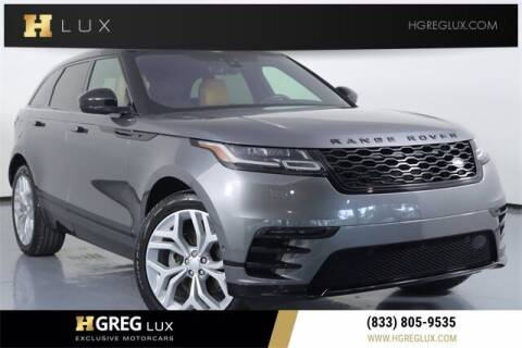 2019 Land Rover Range Rover Velar for sale at HGREG LUX EXCLUSIVE MOTORCARS in Pompano Beach FL