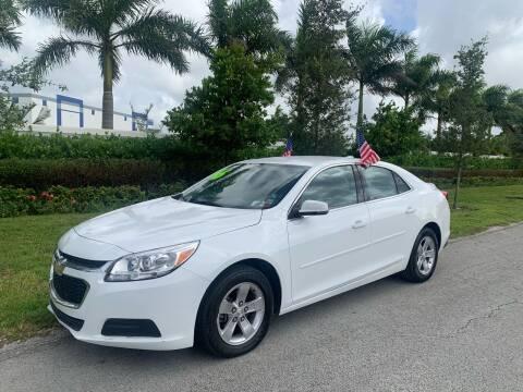 2016 Chevrolet Malibu Limited for sale at D & P OF MIAMI CORP in Miami FL