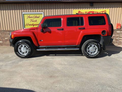 2010 HUMMER H3 for sale at BIG 'S' AUTO & TRACTOR SALES in Blanchard OK