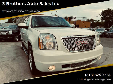 2011 GMC Yukon XL for sale at 3 Brothers Auto Sales Inc in Detroit MI