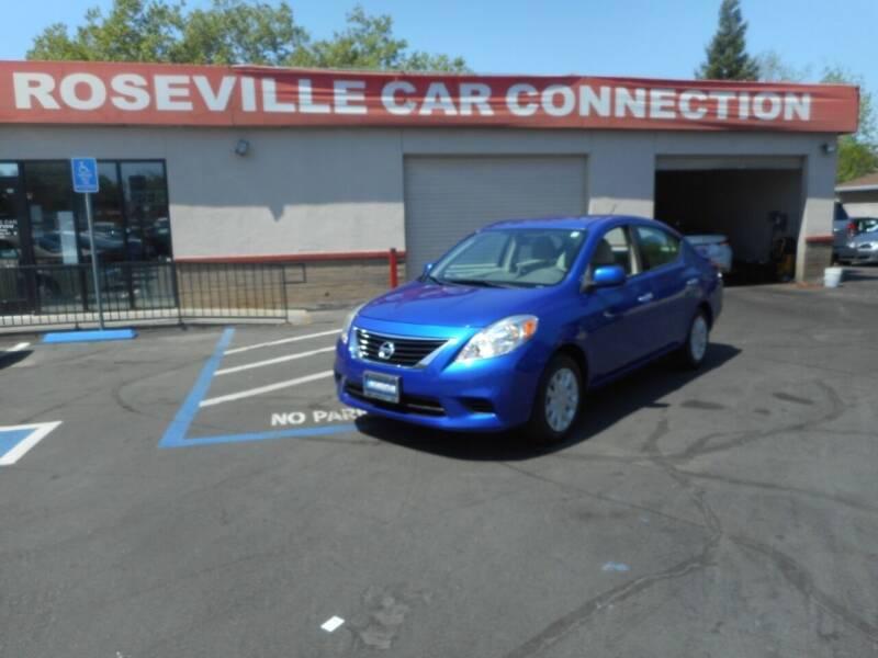 2014 Nissan Versa for sale at ROSEVILLE CAR CONNECTION in Roseville CA