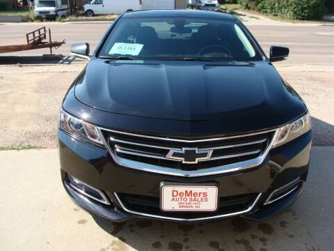 2018 Chevrolet Impala for sale at DeMers Auto Sales in Winner SD