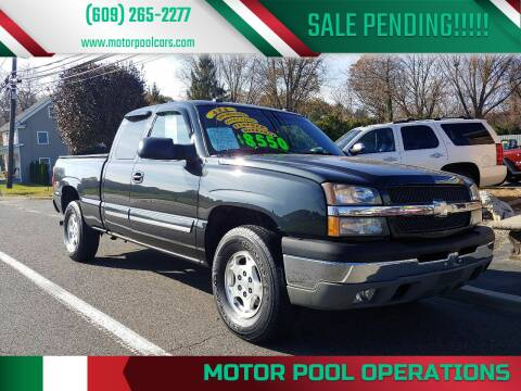 2003 Chevrolet Silverado 1500 for sale at Motor Pool Operations in Hainesport NJ