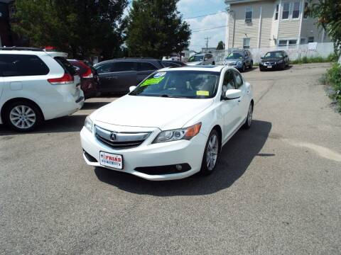 2013 Acura ILX for sale at FRIAS AUTO SALES LLC in Lawrence MA