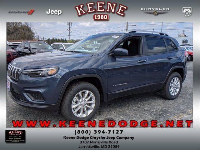 2021 Jeep Cherokee for sale in Jarrettsville, MD