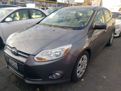 2012 Ford Focus for sale at MCHENRY AUTO SALES in Modesto CA