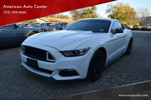 2016 Ford Mustang for sale at American Auto Center in Austin TX