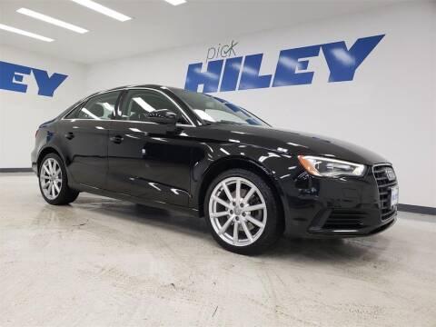 2015 Audi A3 for sale at HILEY MAZDA VOLKSWAGEN of ARLINGTON in Arlington TX