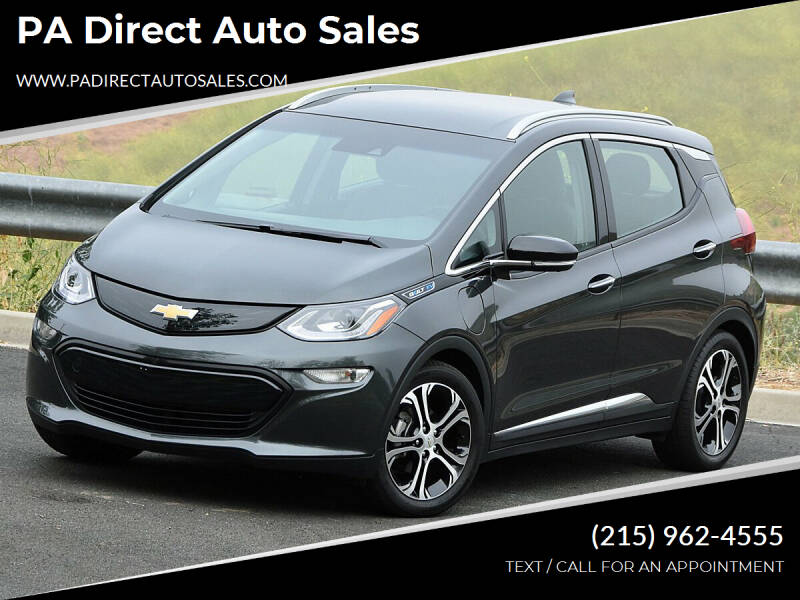 2017 Chevrolet Bolt EV for sale at PA Direct Auto Sales in Levittown PA