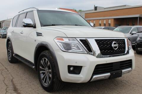 2017 Nissan Armada for sale at SHAFER AUTO GROUP in Columbus OH