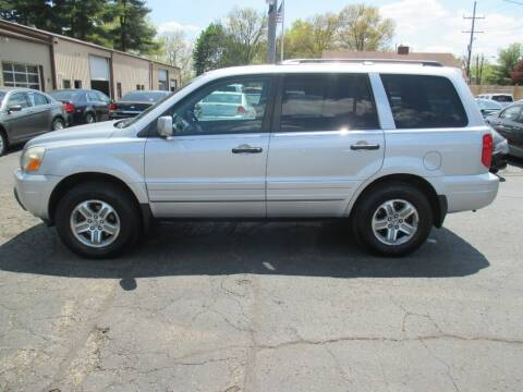 2005 Honda Pilot for sale at Home Street Auto Sales in Mishawaka IN