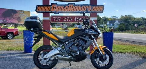 2012 Kawasaki Versys 650 for sale at Haldeman Auto in Lebanon PA