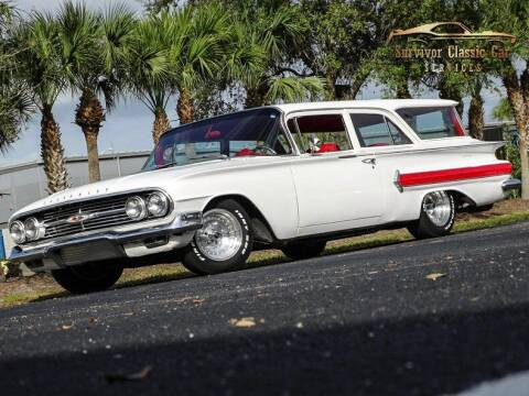 1960 Chevrolet Brookwood for sale at SURVIVOR CLASSIC CAR SERVICES in Palmetto FL