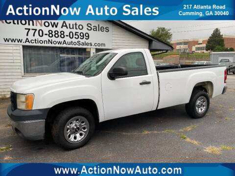 2011 GMC Sierra 1500 for sale at ACTION NOW AUTO SALES in Cumming GA
