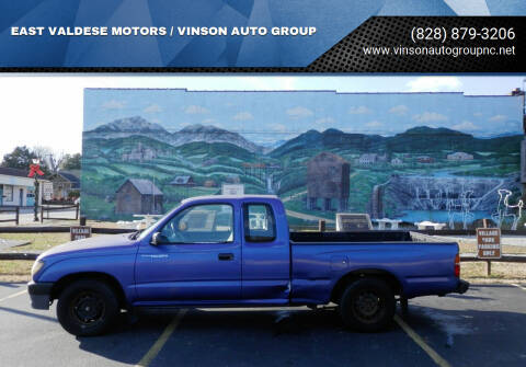 1995 Toyota Tacoma for sale at EAST VALDESE MOTORS / VINSON AUTO GROUP in Valdese NC