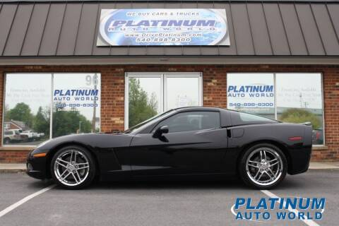 2005 Chevrolet Corvette for sale at Platinum Auto World in Fredericksburg VA