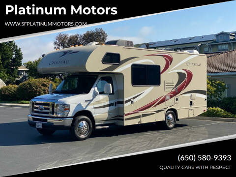 2016 Ford E-Series Chassis for sale at Platinum Motors in San Bruno CA